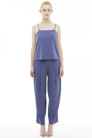 Navy Reeta Trousers