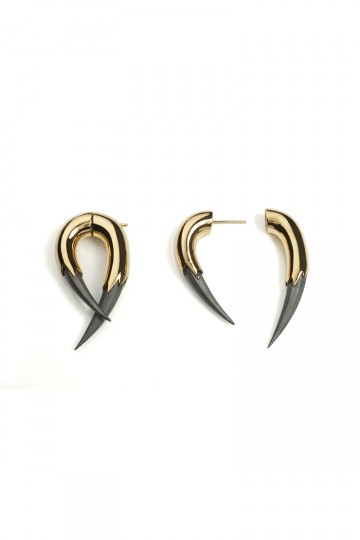 VAMPIRE CLAW EARRINGS GOLD