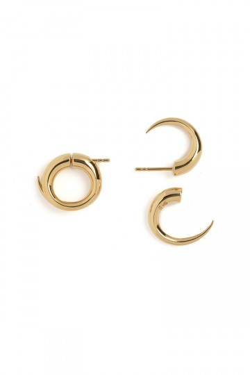 CROCODILE HOOP EARRINGS
