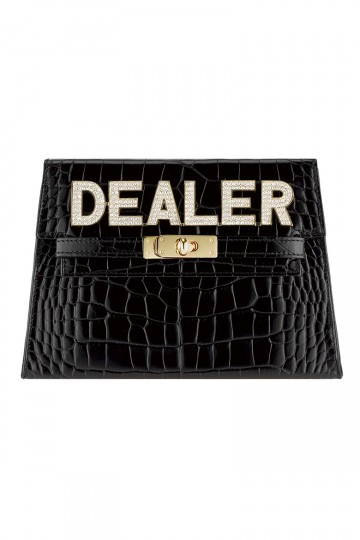 Dealer Clutch Bag In Black