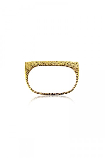 Double Gold Platering Ring