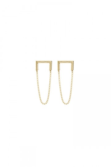 Industria Earrings Gold