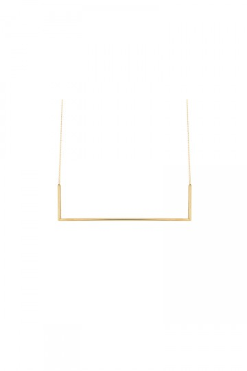 Industria Necklace Gold