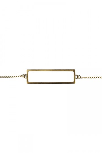 Rectangle Bracelet Gold