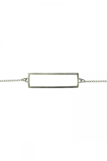Rectangle Bracelet Silver